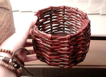 Newspaper Basket by Shannen483