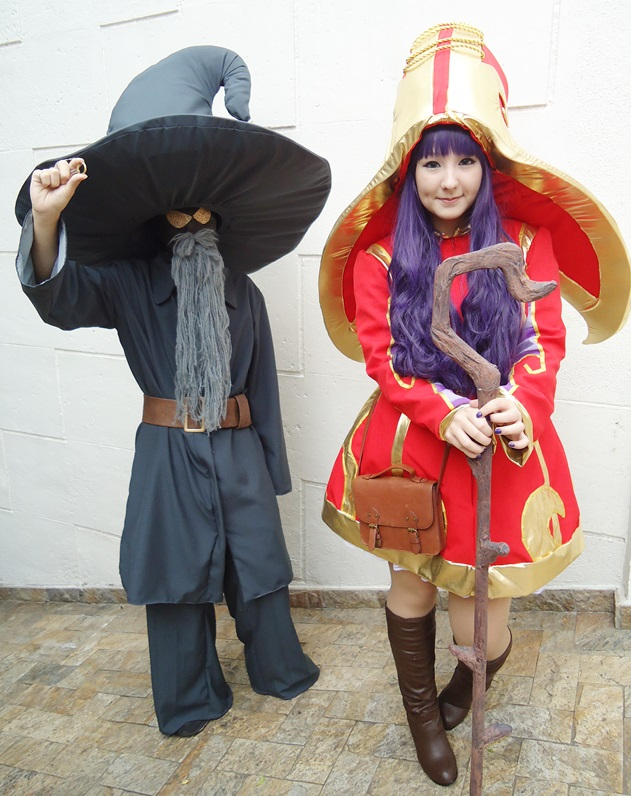 Veigar League Of Legends Cosplay League of legends - lulu andVeigar Lol Cosplay