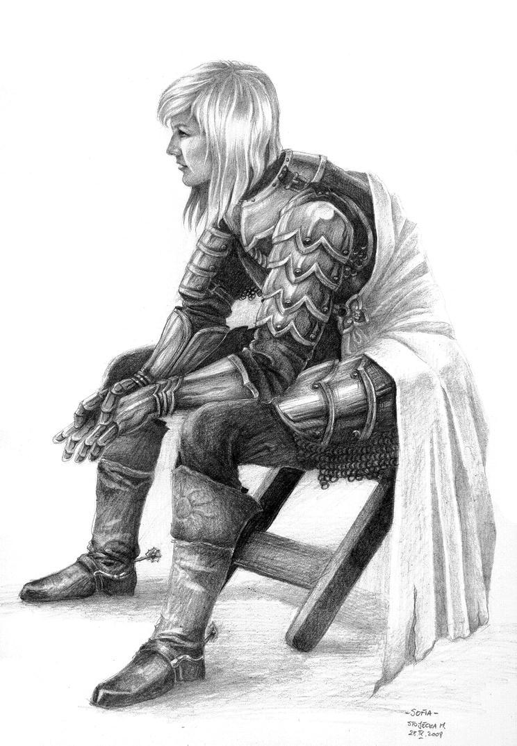 Sofia - Female Knight by MIHO24