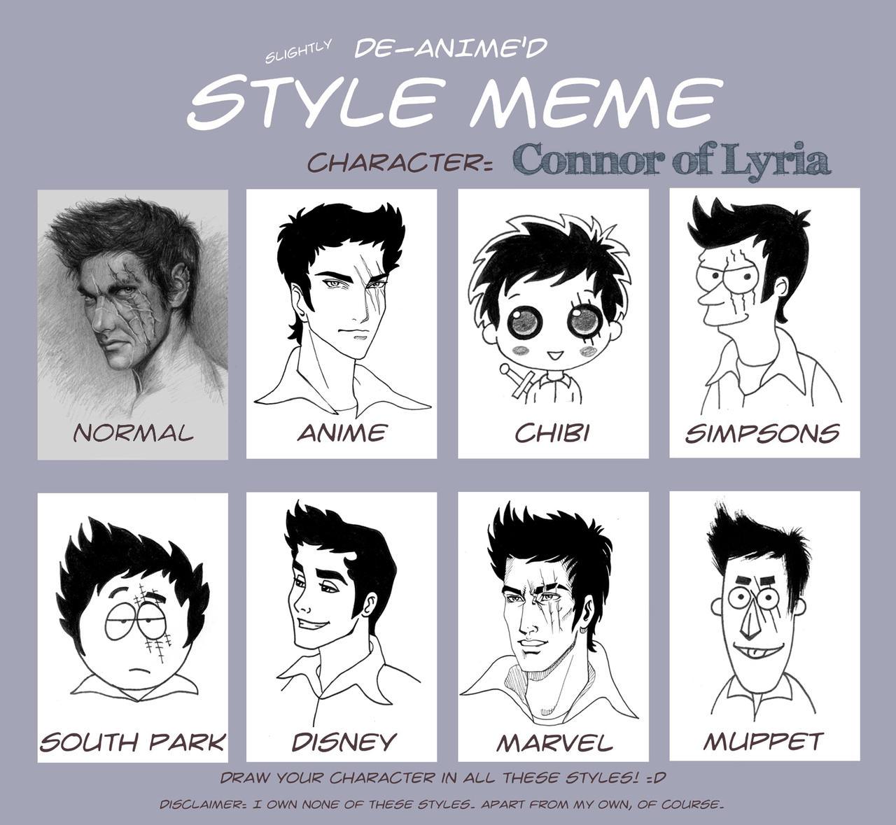 Harry Potter Muppets: Connor On De Anime Style Meme By MIHO24 On DeviantArt