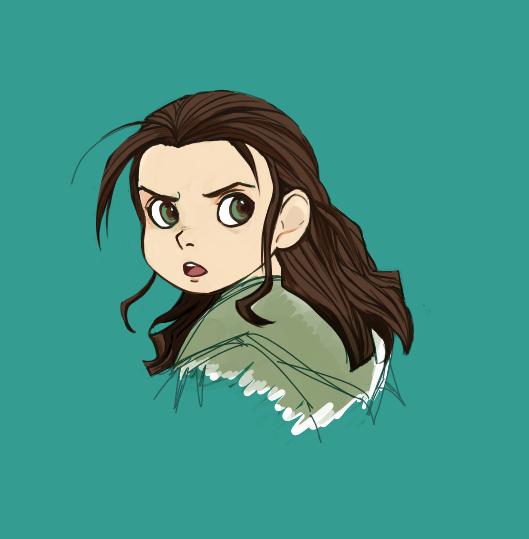 Arya Stark by evaunits
