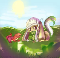   Geckos!   by Noodlekitsune