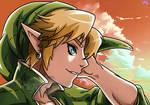 Link / The Legend of Zelda! by ChigoSenpai