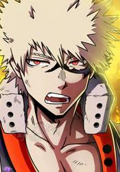 BNHA: King of Explosion / Bakugou Katsuki! by ChigoSenpai
