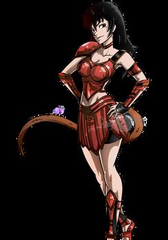 Commission: Saiyaness Zucchi!