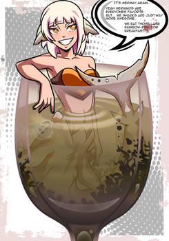 BNHA OC: Nagakura Hitomi on Mermay!