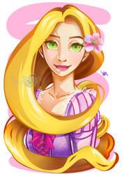 Disney Fan-Art: Rapunzel!