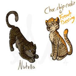 Flavor Tigers-Nutella Chocchip by SinLigereep