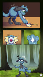 It's a Mystery 3/4 -Comic Commission-