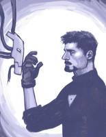 I am iron man by Accolay