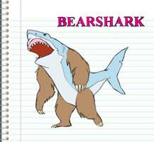 BearShark Version 1 by TwiggyMcBones