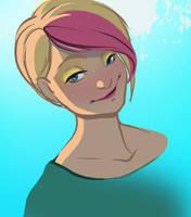 Yellow Eyeshadow is IN by TwiggyMcBones