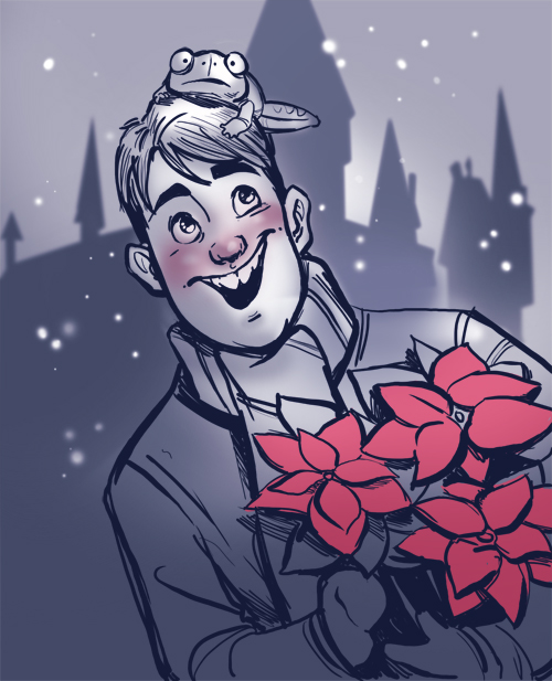 Holiday Longbottom by TwiggyMcBones