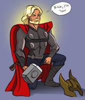 Thor Fanartz by TwiggyMcBones