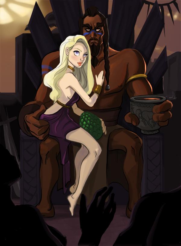 Daenerys Targaryen by TwiggyMcBones