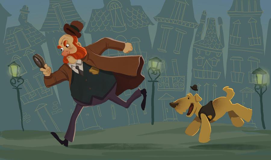 Inspector Reginald Muttonburns by TwiggyMcBones
