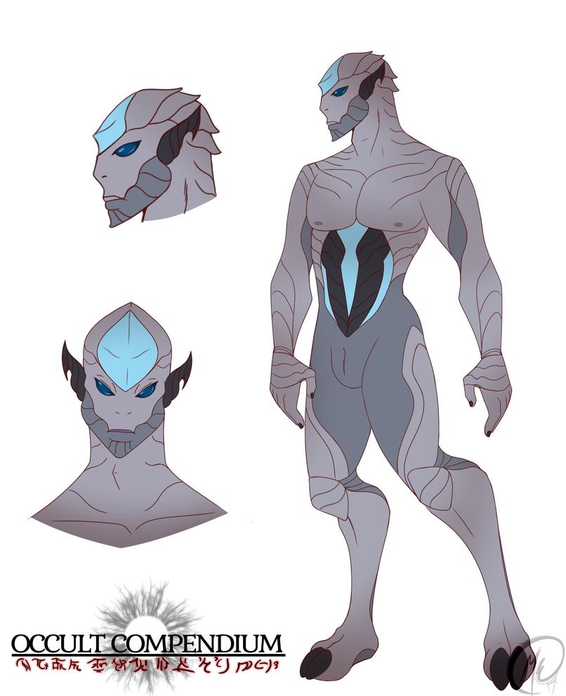 Aripdian True Alien form by Meeche-Max