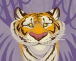 Tiger by diehardzelda