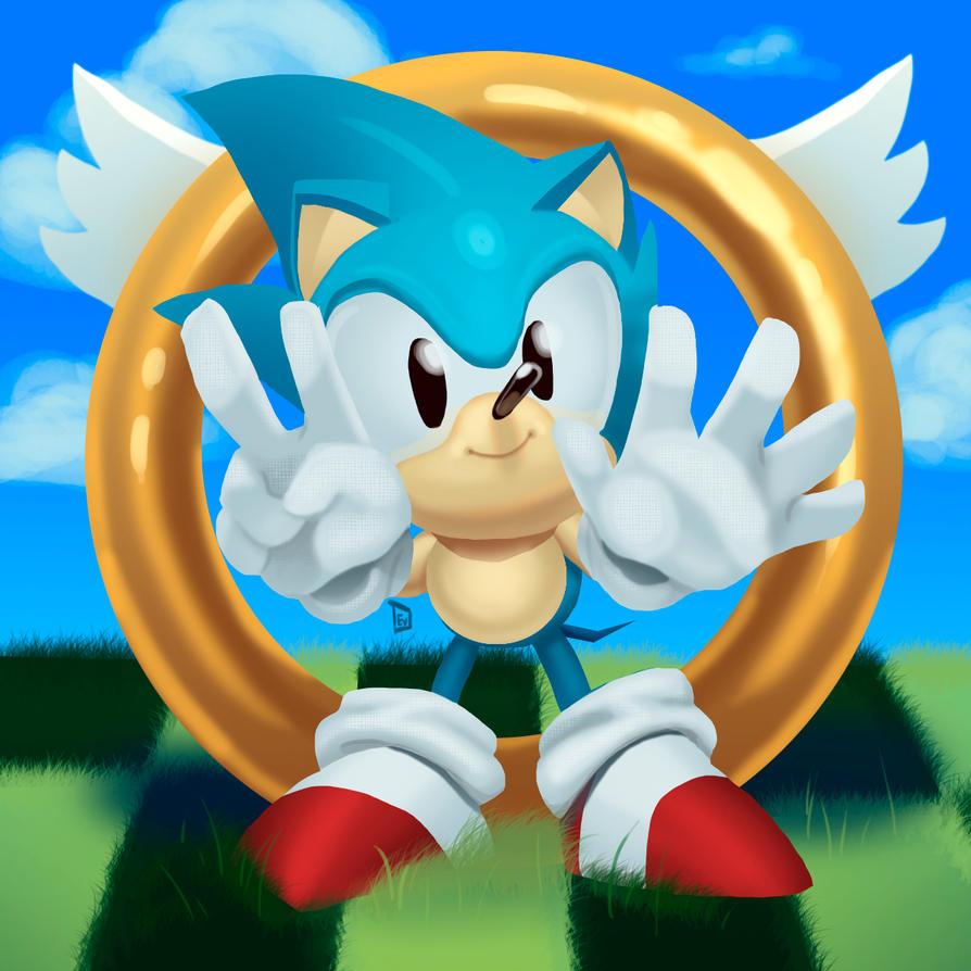Sonic 25th by diehardzelda