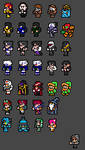 Final Fantasy NES Sprite Fun 2