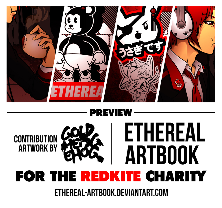 Ethereal Artbook preview by goldhedgehog