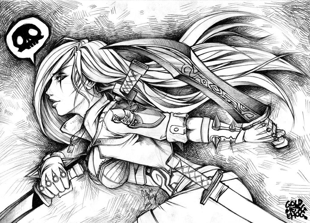 Katarina by goldhedgehog