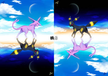Espeon and Umbreon #Pokemon20