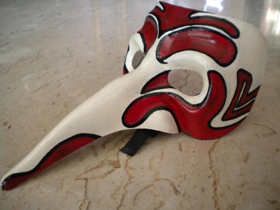 Tengu Mask by JigokuNoTenno