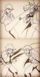 Fighting by Dayheart