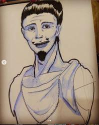 I draw My friend by Dayheart
