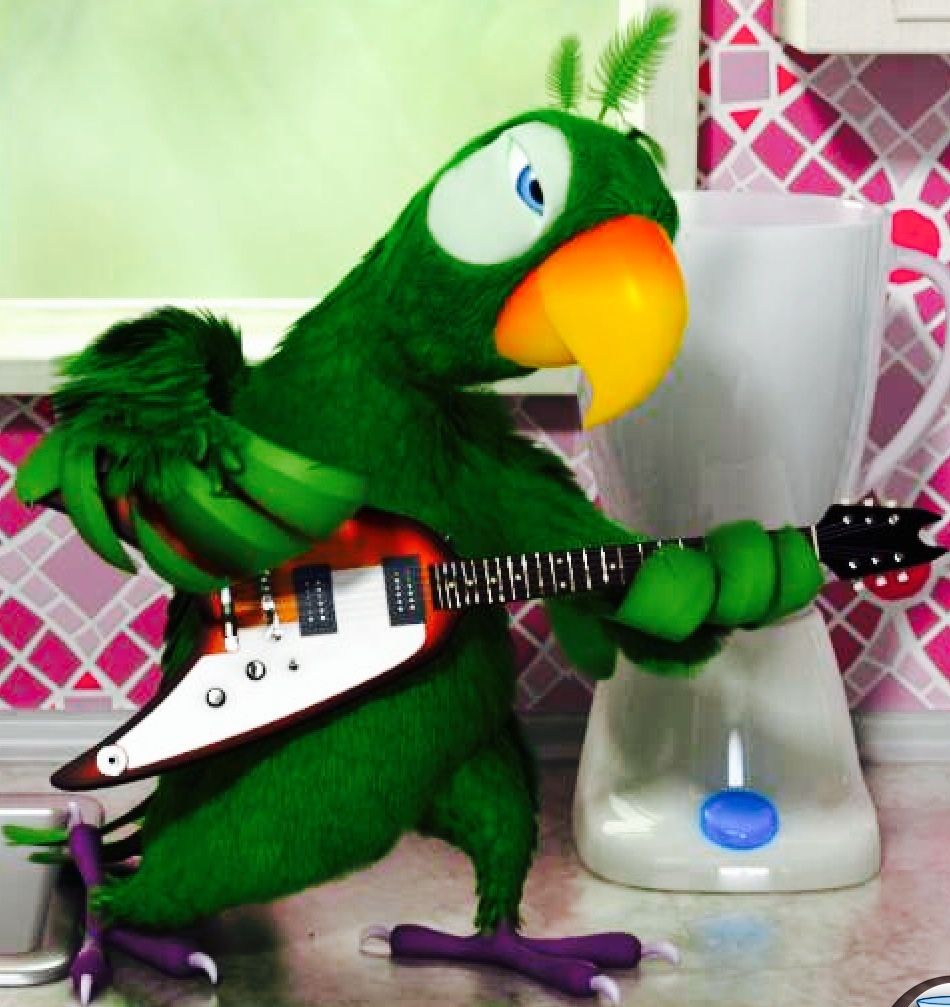 Talking Pierre the Parrot Free free app download for Android