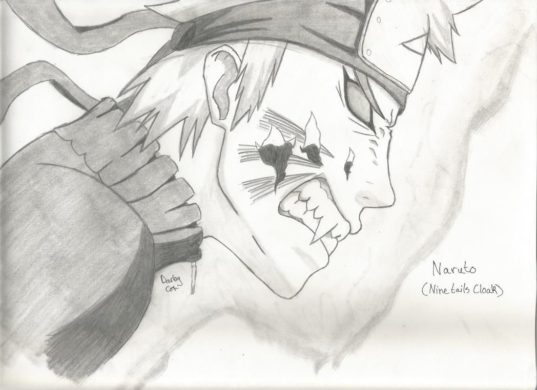 Naruto (Nine Tails Cloak) by MasashiRaiden on DeviantArt  Naruto (Nine Ta...
