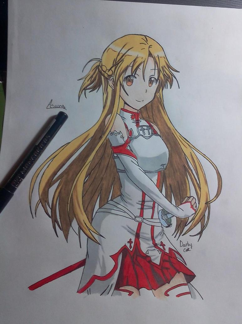 Asuna by MasashiRaiden