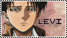 Levi stamp by Soani-chan