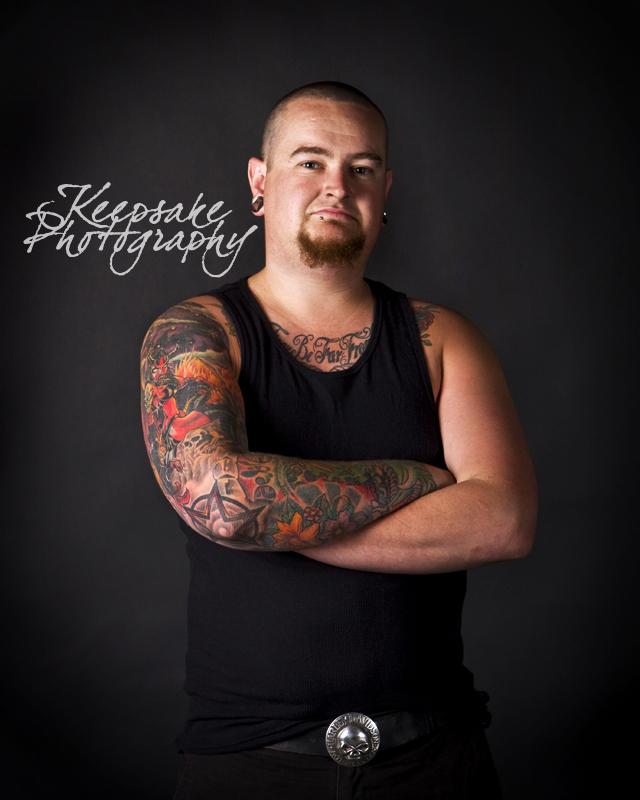 Snodgrass Spitting On Bellamy. Tattoo Series 04