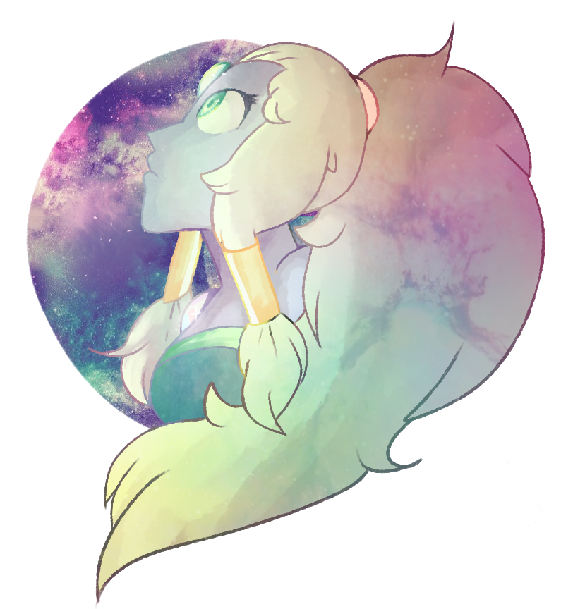 Painted Opal from Steven Universe. uvu