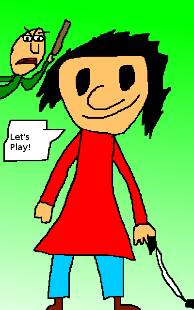 Playtime (Baldi's Basics) by CrocodileCroco