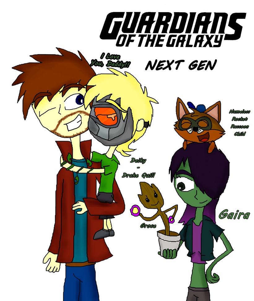 .:. Guardians Of The Galaxy: Next Gen .:. by Rise-Of-Majora