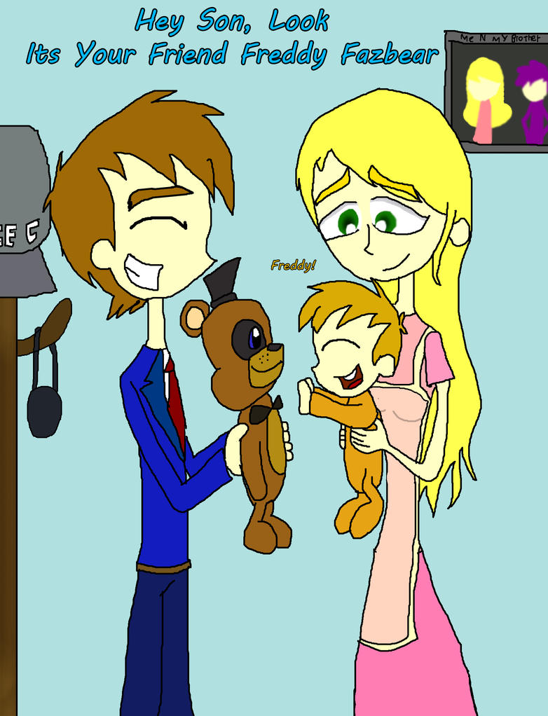 Mike schmidt and his family by rise of majora on deviantart