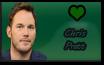.:. Chris Pratt Stamp .:. by InvaderOfFandoms