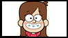 Gravity Falls Stamps : Mabel Pines by InvaderOfFandoms
