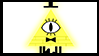 Gravity Falls Stamps : Bill Cipher by InvaderOfFandoms