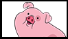 Gravity Falls Stamps : Waddles by VelociPRATTor