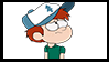 Gravity Falls Next Gen Stamp : Danny Pines by VelociPRATTor