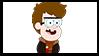 Gravity Falls Next Gen Stamp : FordRick Pines V by VelociPRATTor