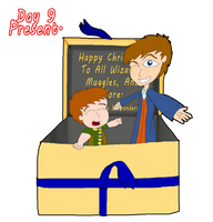 31 Days of Christmas:  Day 9 - Present by Ammoniteling