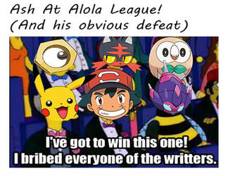 PKMN : Ash : I Bribed Everyone Of The Writters by Ammoniteling