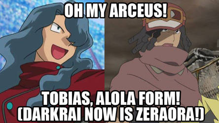 Pokemon : Dia Is Tobias Alola Form? by Ammoniteling