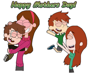 Gravity Falls NG  : Happy Mothers Day by Ammoniteling