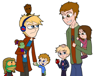 MCU : Young Avengers, Big Brothers N Lil Siblings by Ammoniteling